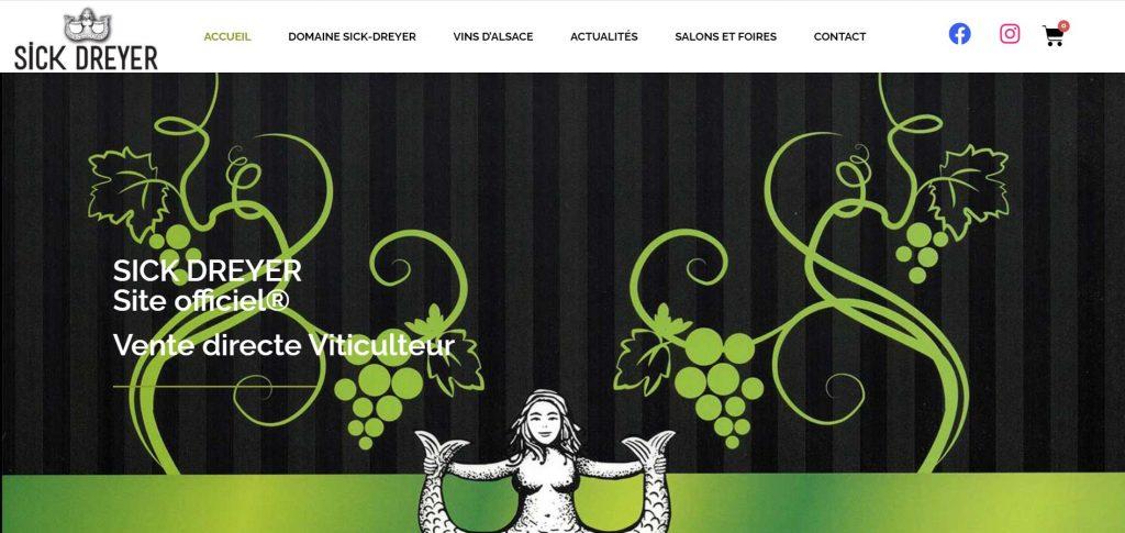 Site Web Sick Dreyer
