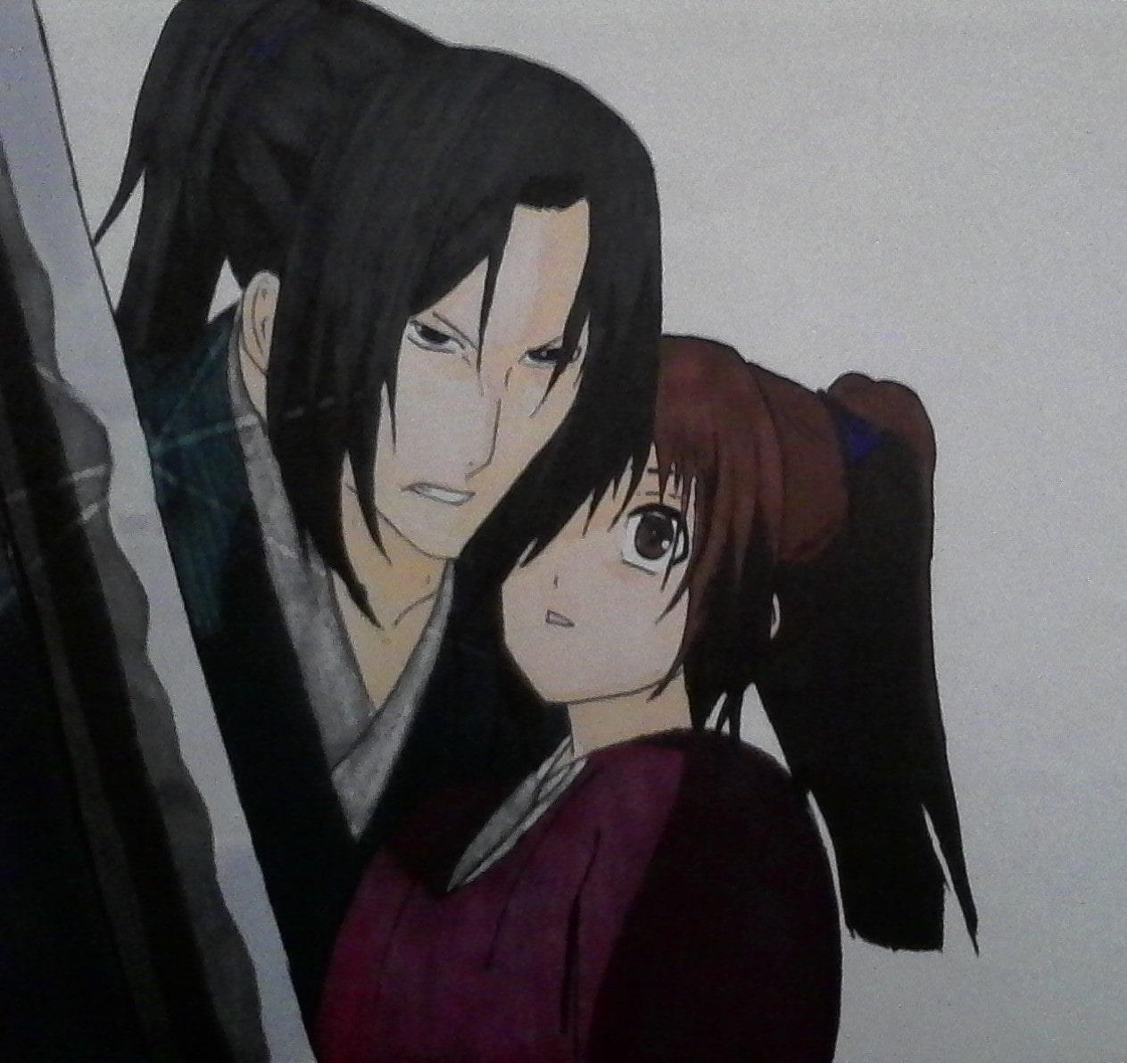Chizuku & Hajikata   Hakuōki