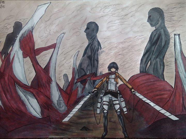 Mikasa   Attaque des Titans