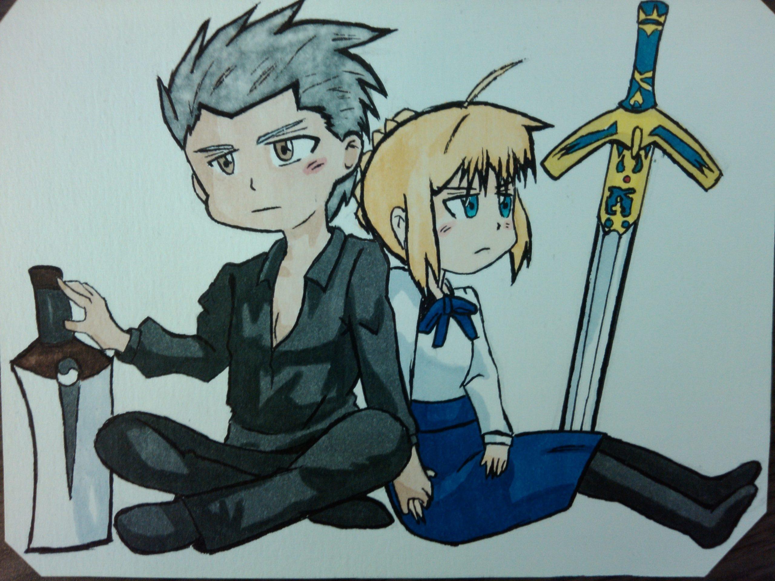 Saber & Archer