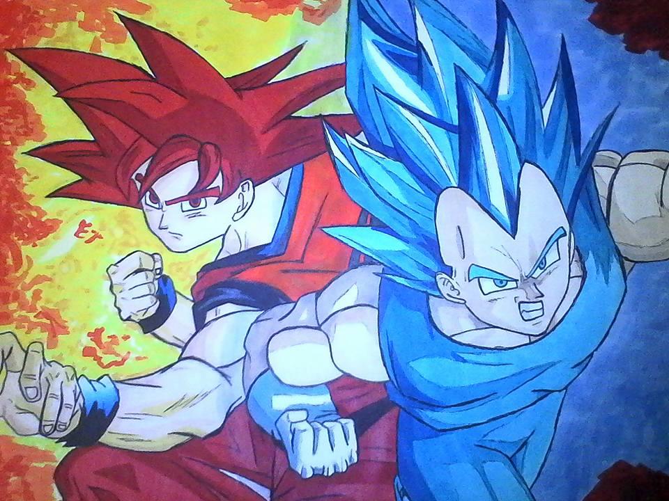 SanGoku & Vegeta   Dragon Ball Z