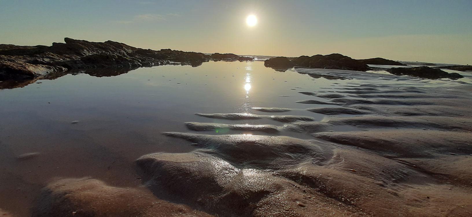 Photo Coucher de Soleil sur l'océan