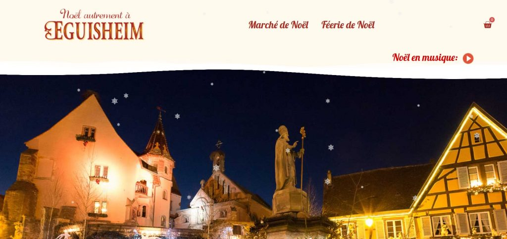 Site Web Marché de Noel d'Eguisheim