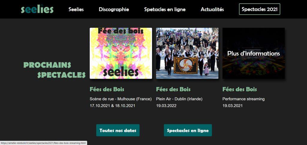 Site Web Seelies